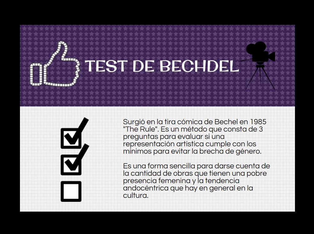 El Test de Bechdel